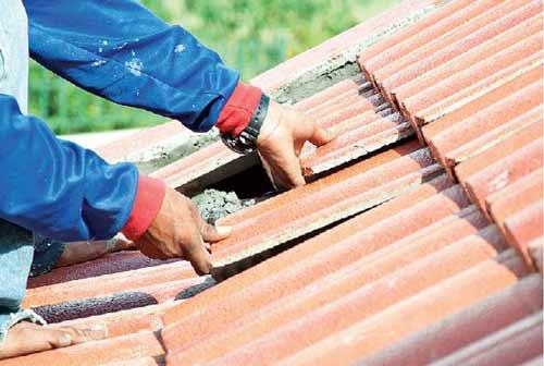 как чинить крышу